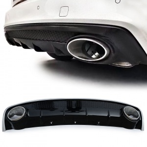 Diffuseur arriere AUDI A4 B8 11-15 - Look RS4