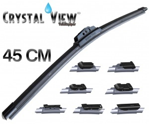 "Balai essuie glace Crystal View 45CM - 18"""