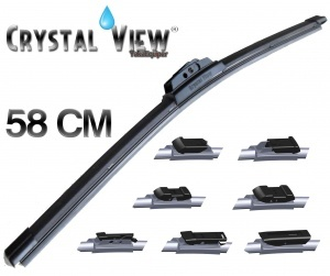 "Balai essuie glace Crystal View 58CM - 23"""