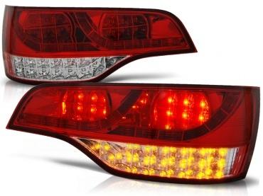 Feux arriere AUDI Q7 led 05-09 - Rouge