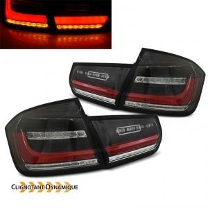 2 Feux arriere LED dynamiques BMW Serie 3 F30 - 11-19 - Noir