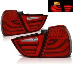 2 Feux arriere BMW Serie 3 E90 LCI 09-11 - LTI - Rouge