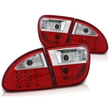 Feux SEAT Leon 1M LED - 99-04 - Rouge