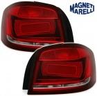 Feux arriere AUDI A3 8P 03-12 Rouge cerise - style facelift