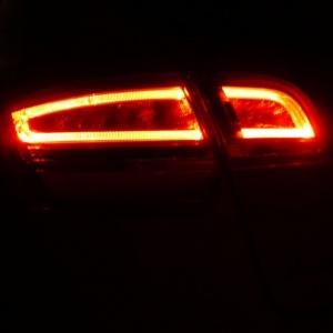 2 Feux LED AUDI A3 Sportback 04-13 Rouge - style facelift