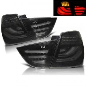 2 Feux arriere BMW Serie 3 E90 LCI 09-11 - LTI - Noir