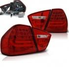 Feux arriere BMW Serie 3 E90 05-08 - LTI - Rouge