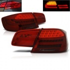 Feux arriere BMW Serie 3 E92 LED 06-10 - Rouge teinte