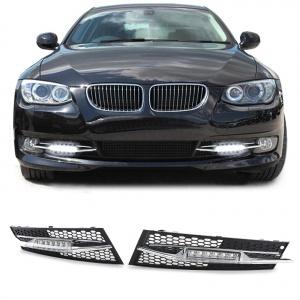 2 Feux de jour LED DRL Ready - BMW E92 LCI Coupe - Blanc