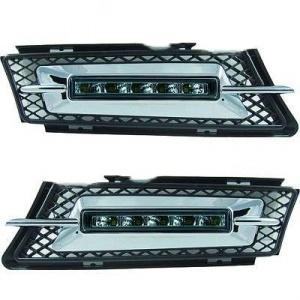 2 Feux de jour LED DRL Ready - BMW E90 E91 05-08 - Modele 2