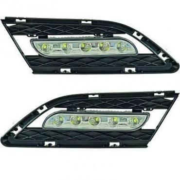 Feux de jour LED DRL Ready - BMW E90 E91 09-12 - Blanc