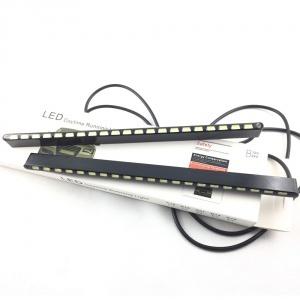 Feux de jour LED Slim 19cm - blanc xenon
