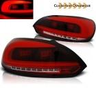 Feux arriere VW Scirocco 08-14 LED LTI - Rouge - Dynamique