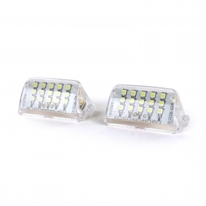 Pack LED plaque immatriculation PEUGEOT 206