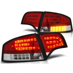 Feux LED AUDI A4 B7 04-08 LED Rouge