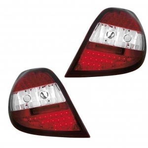 2 Feux Renault Clio 3 LED - 05-09 - Rouge