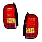 Feux LED Dacia Duster 2011 - Clair / Rouge