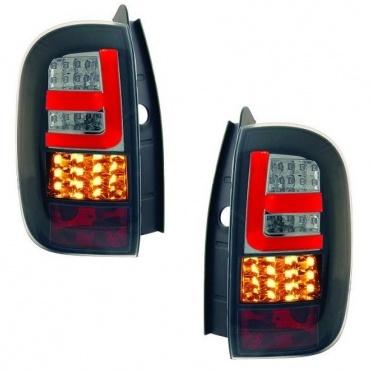 Feux LED Dacia Duster 2011 - clair / noir / fumé
