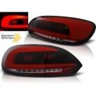Feux arriere VW Scirocco 08-14 LED LTI - Rouge teinté - Dynamique