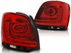 Feux arriere VW Polo 6R 09-14 - LED - Rouge teinté