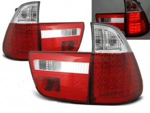 Feux arriere LED BMW X5 E53 99-03 - Rouge