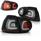 Feux arriere VW Golf 5 03-08 LED LTI look GTI - Noir