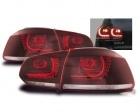 Feux arriere VW Golf 6 - LED - Clair