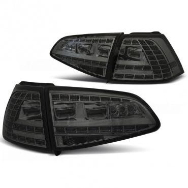 feux volkswagen golf 7 look gti led chrome fum yakaequiper. Black Bedroom Furniture Sets. Home Design Ideas