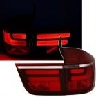 Feux arriere BMW X5 E70 07-10 - LTI - Rouge