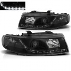 Phares SEAT Leon Toledo 1M 99-04 - Devil Eyes LED - Noir