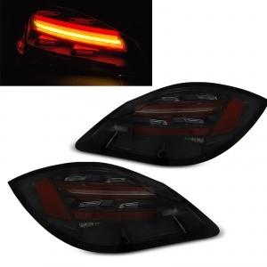 Feux Porsche Boxster Cayman 987 fullLED dynamiques 09-12 - Noir fumé