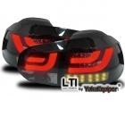 Feux arriere VW Golf 6 - LTI+LED - Noir