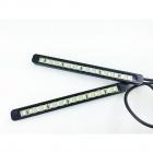 Feux de jour 15 LED Diurne 13cm - Blanc Pur - FlatDesign