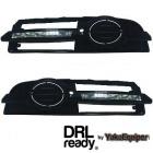 Feux de jour LED DRL Ready - AUDI A6 (C6 4F) S-Line - Blanc