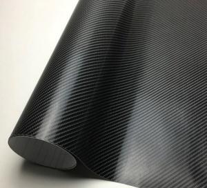 Rouleau Vinyl adhésif 4D-B Carbone noir 30 mètres / 150cm