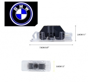 Pack Ghost LED Light Bas de porte E39 E53 - Logo BMW