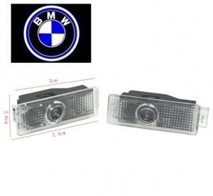 Pack Ghost LED Light Bas de porte Serie 3 5 6 7 X - Logo BMW