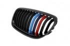 Grilles calandre BMW Serie 3 E90 E91 LCI 08-11 - Noir - Mpower