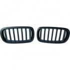 Grilles calandre BMW X5 F15 X6 F16 13-18 - Noir Mat look Mperf