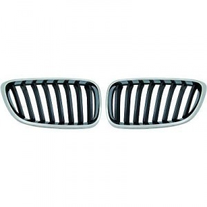 Grilles calandre BMW Serie 2 F22 / F23 - Chrome look M