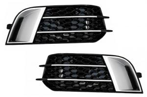 Grilles antibrouillard Audi A1 8X 2010 -2015 - look RS1