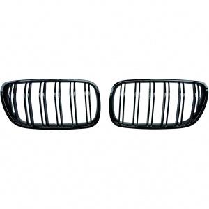 Grilles calandre BMW X3 (E83) 06-11 - Noir look M