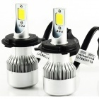 2 Ampoules H4 bi-led HEADxtrem C6 7600lumens 72W - Blanc Pur