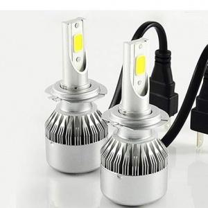 2 Ampoules LED H7 HEADxtrem C6 7600lumens 72W - Blanc Pur