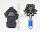 Pack 2 Ampoules H10 Effet Xenon - Super White 5000K
