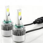 2 Ampoules LED HB4 9006 HEADxtrem C6 7600lumens 72W - Blanc Pur