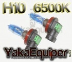 Pack Ampoule H10 HOD Effet Xenon - Cristal White 6500K