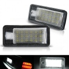 Pack LED plaque immatriculation AUDI A4 / S4 B7