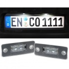 Pack LED plaque immatriculation Audi A8 D3 4E 02-10