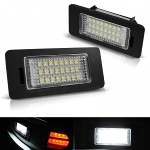 Pack LED plaque immatriculation AUDI A1